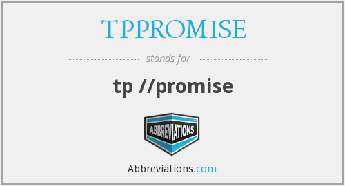 What does TPPROMISE stand for?