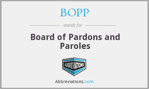 What does paroles stand for?