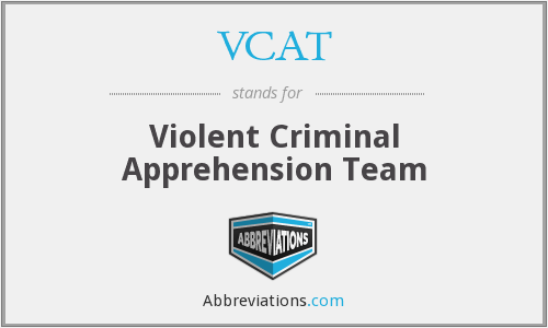 VCAT - Violent Criminal Apprehension Team