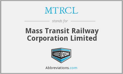 What does MTRCL stand for?