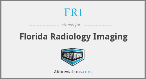 FRI - Florida Radiology Imaging