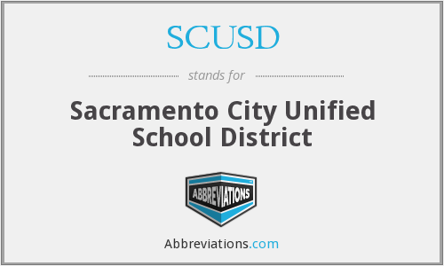 What does SCUSD stand for?