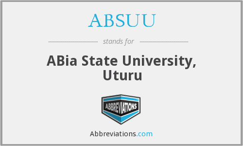 What does ABSUU stand for?