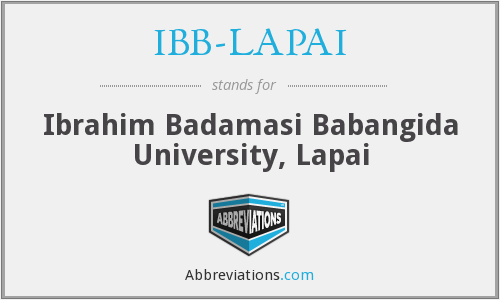 What does IBB-LAPAI stand for?