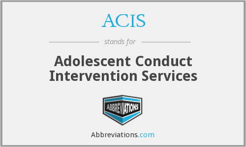 ACIS - Adolescent Conduct Intervention Services