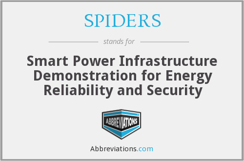 SPIDERS - Smart Power Infrastructure Demonstration for Energy Reliability and Security