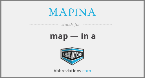 MAPINA - map — in a