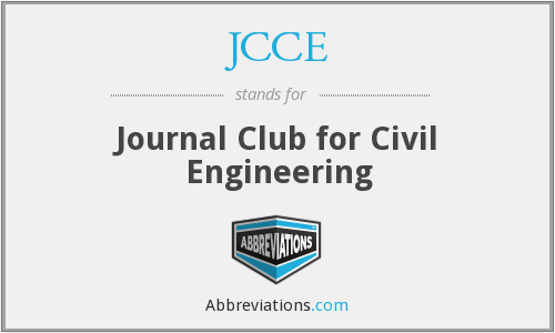 What does JCCE stand for?