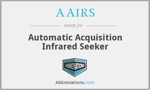 AAIRS - Automatic Acquisition Infrared Seeker