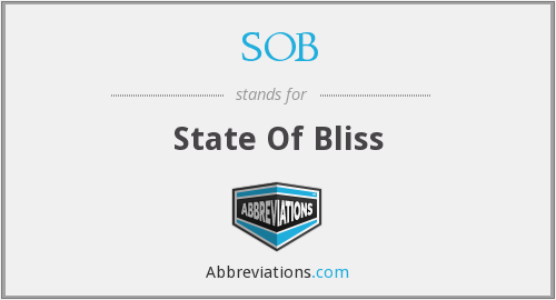 SOB - State Of Bliss