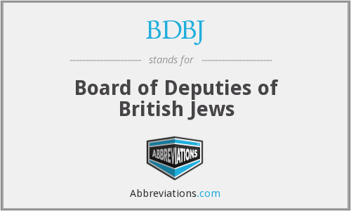 What does BDBJ stand for?
