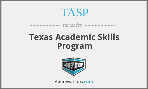 What does TASP stand for?