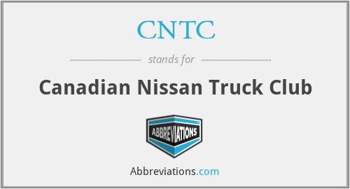 CNTC - Canadian Nissan Truck Club