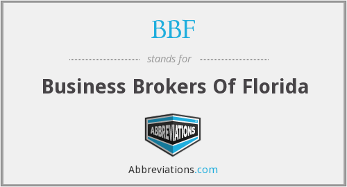 BBF - Business Brokers Of Florida