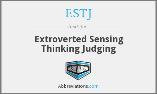 What does ESTJ stand for?