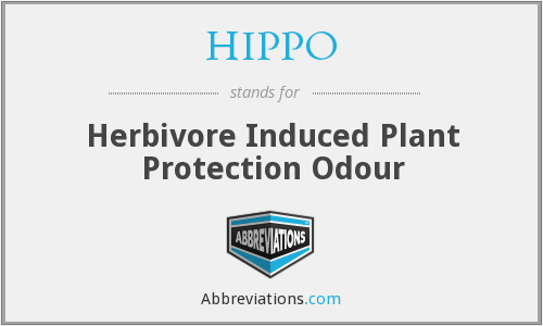 HIPPO - Herbivore Induced Plant Protection Odour