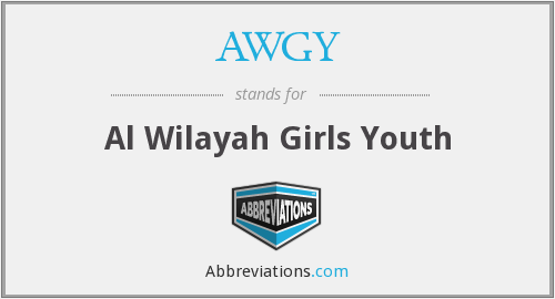 What does AWGY stand for?