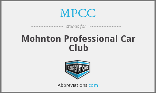 What does MPCC stand for?