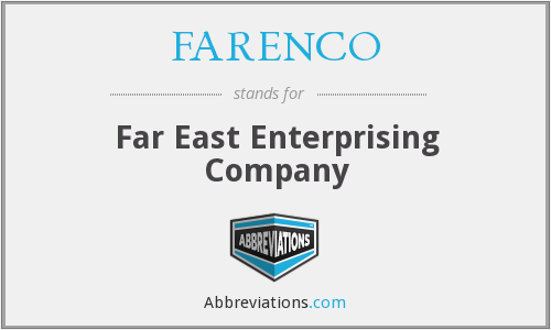 What does FARENCO stand for?