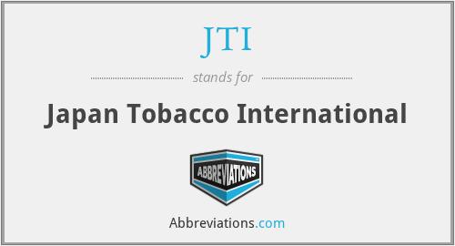 JTI - Japan Tobacco International