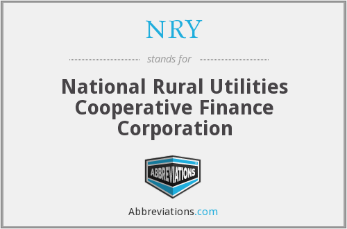 NRY - National Rural Utilities Cooperative Finance Corporation