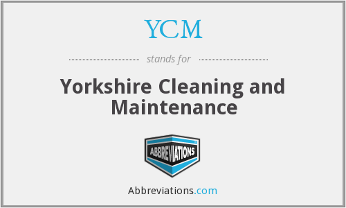 YCM - Yorkshire Cleaning and Maintenance