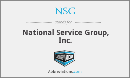 NSG - National Service Group, Inc.