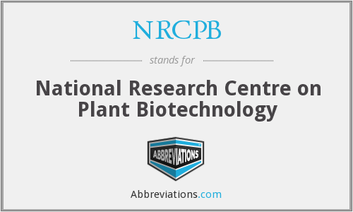 What does NRCPB stand for?