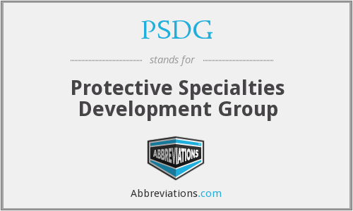 What does PSDG stand for?