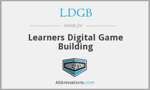 What does LDGB stand for?