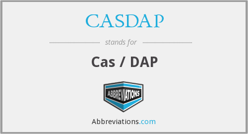What does CASDAP stand for?