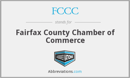 FCCC - Fairfax County Chamber of Commerce