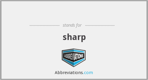 What Is The Abbreviation For Sharp