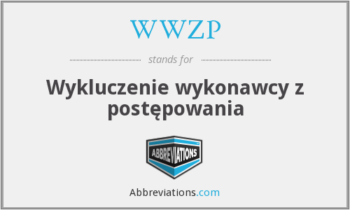 What does WWZP stand for?
