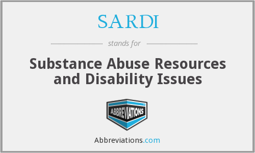 What does SARDI stand for?