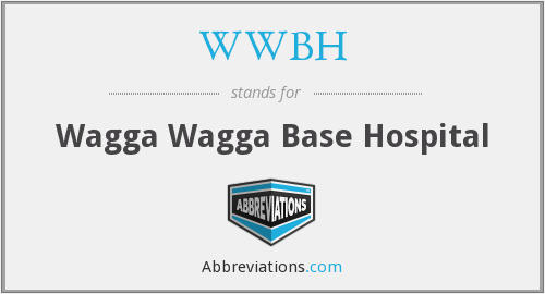 What does WWBH stand for?
