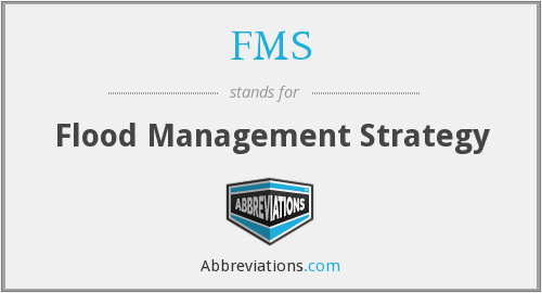 FMS - Flood Management Strategy