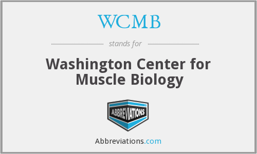 What does WCMB stand for?