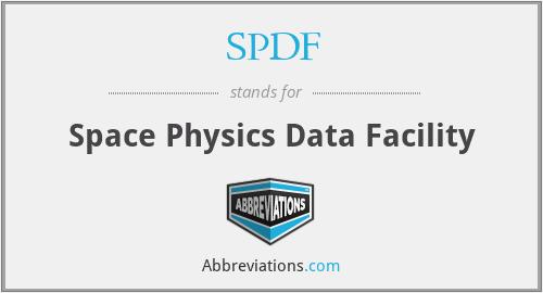 SPDF - Space Physics Data Facility