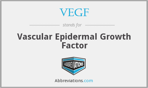 What does VEGF stand for?
