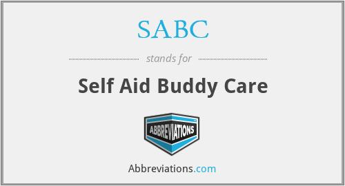 SABC - Self Aid Buddy Care