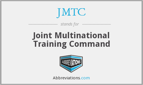 What does JMTC stand for?