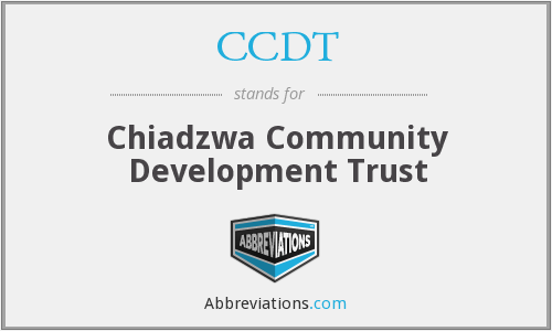 CCDT - Chiadzwa Community Development Trust