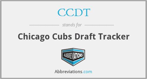 CCDT - Chicago Cubs Draft Tracker