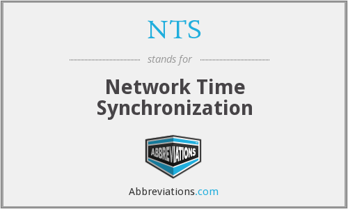 NTS - Network Time Synchronization