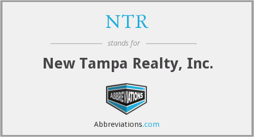 NTR - New Tampa Realty, Inc.