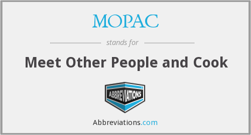 What does MOPAC stand for?