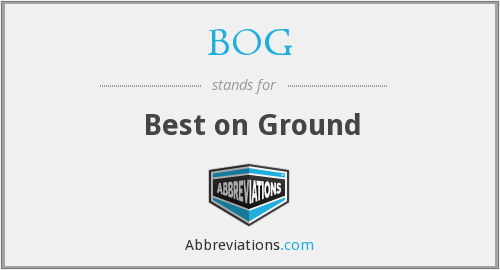 What does BOG stand for? — Page #2