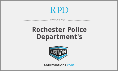 RPD - Rochester Police Department's