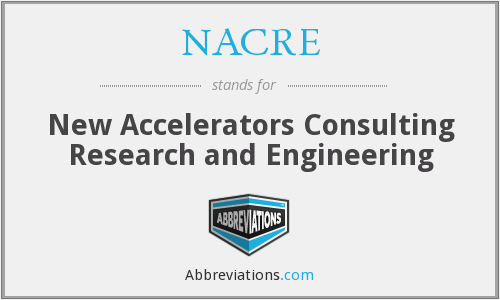 What does NACRE stand for?
